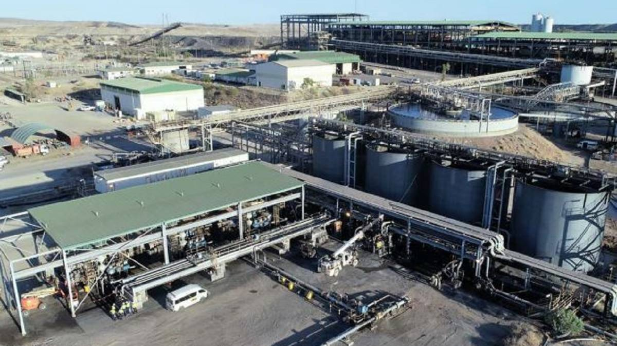 New Century begins zinc pipeline operation | The North West Star ...