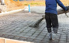 Pouring Concrete Around Utilites | Concrete in Columbia SC